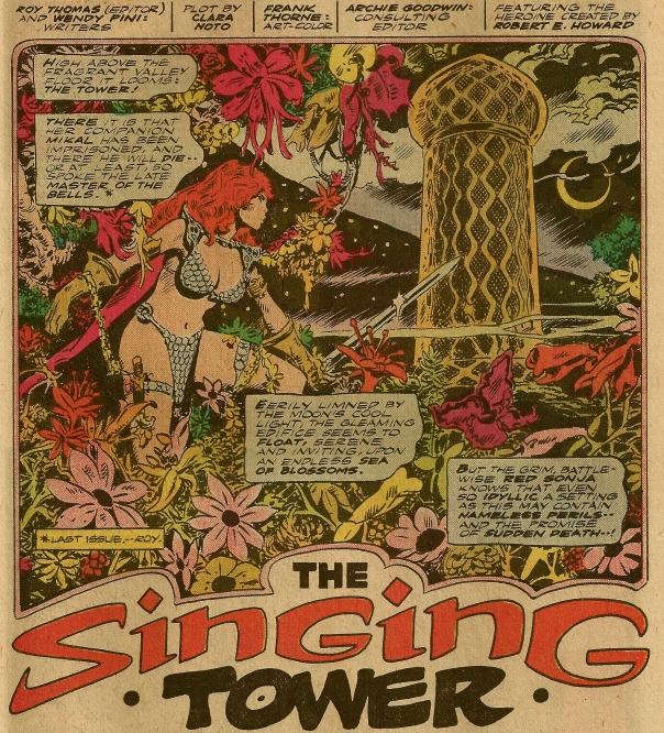 Red Sonja #6, Frank Thorne
