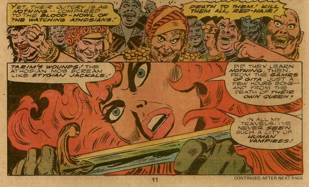 Frank Thorne, Red Sonja