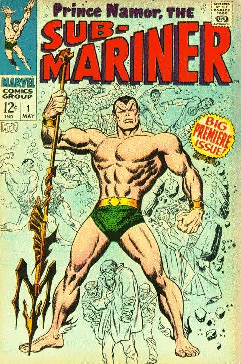 Sub-Mariner #1, John Buscema