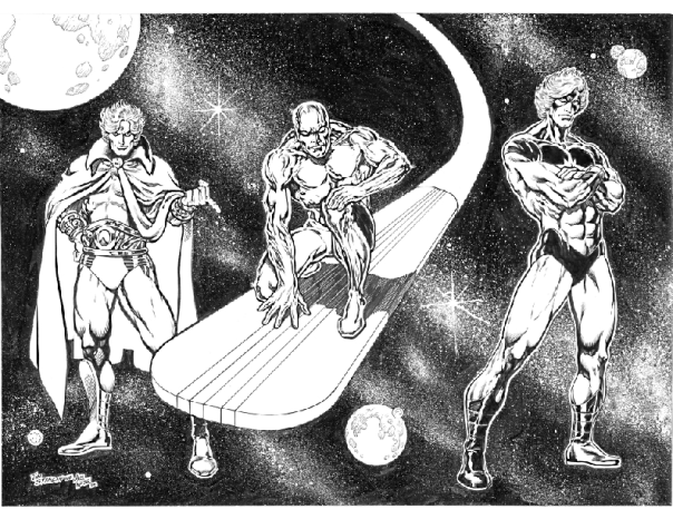 Cosmic Comic Heroes, Jim Starlin