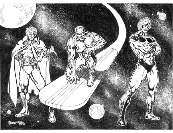 Cosmic Comic Heroes, Jim Starlin