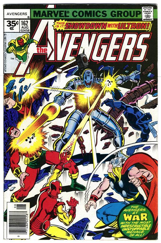 Avengers #162, George Perez