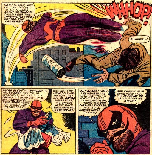 Batroc the Leaper!