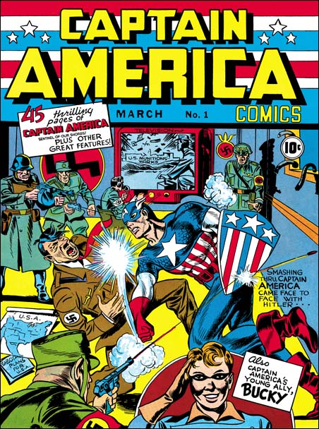 CaptainAmerica #1, by Jack Kirby & Joe Simon