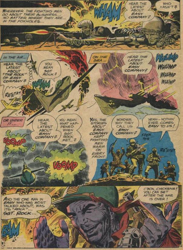 Joe Kubert & Bob Kanigher, Our Army At War #83