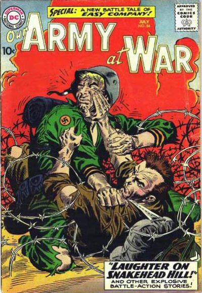 Joe Kubert, Our Army At War #84