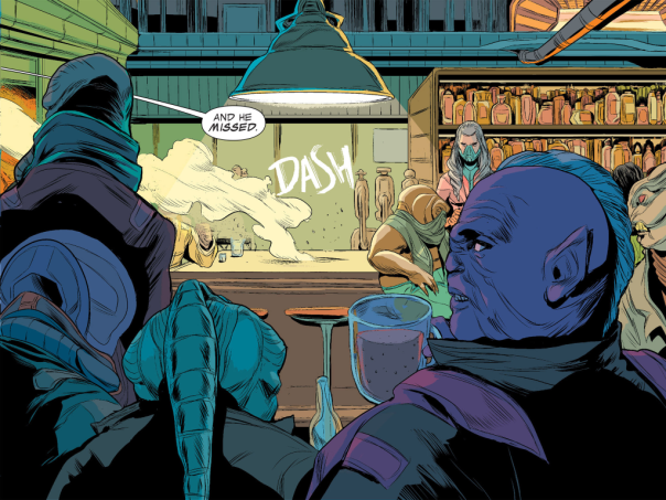 Guardians of the Galaxy: Infinite Comic #2 by Brian Michael Bendis and Ming Doyle