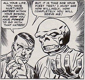 Red Skull & Hitler