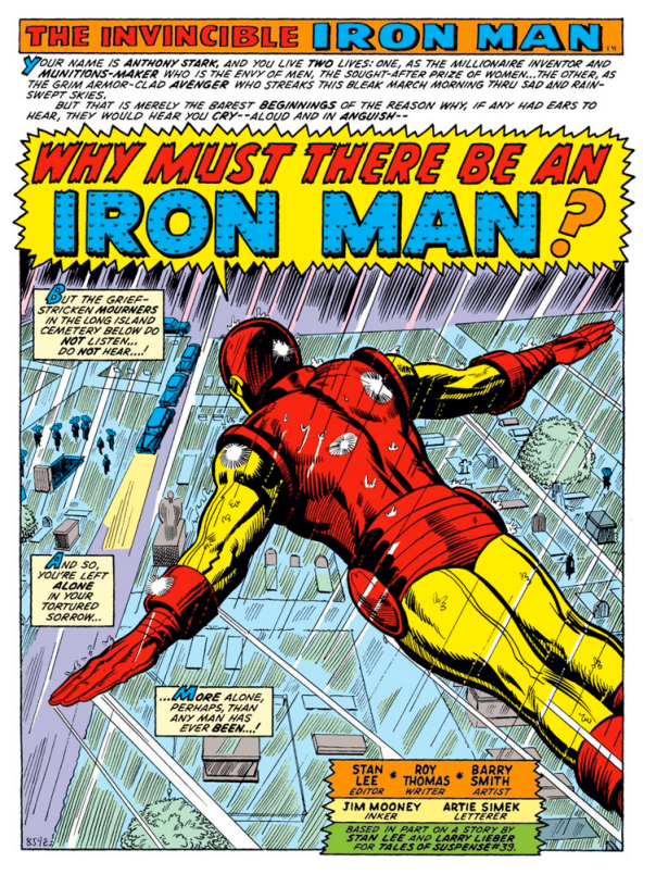 Why Must There Be An Iron Man?