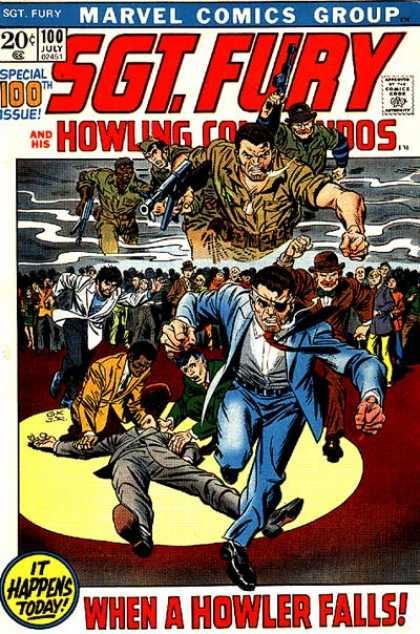 Sgt. Fury #100