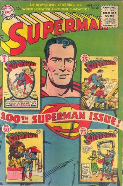 Superman #100