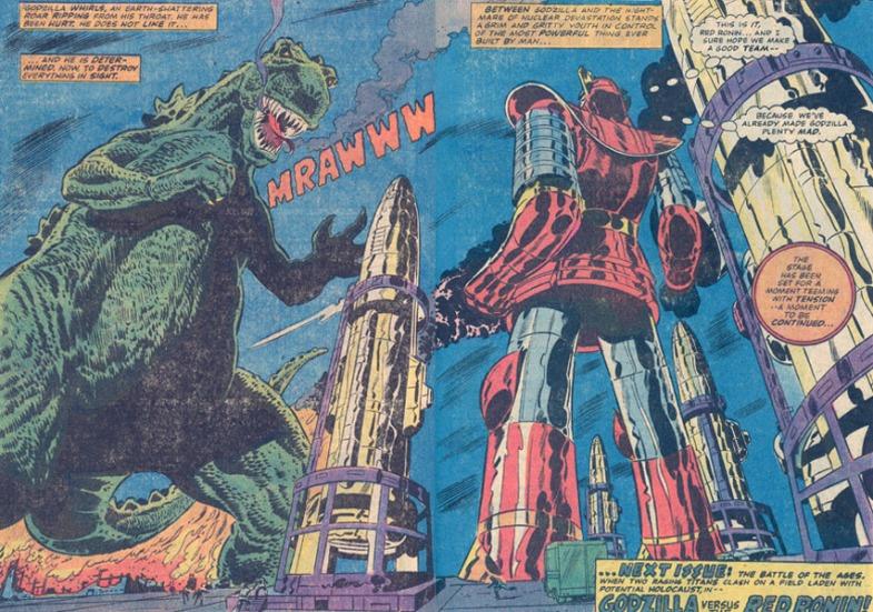 Godzilla vs. Red Ronin