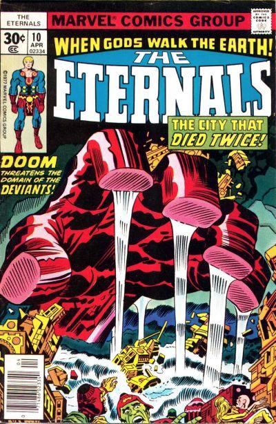 Eternals #10, Jack Kirby