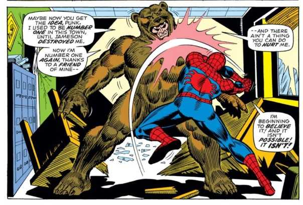 Spider-Man vs. The Grizzly!