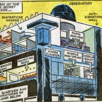 Top Ten Superhero Lairs!