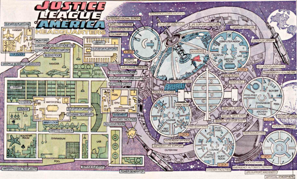 Justice League Satellite