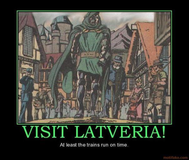Visit Latveria