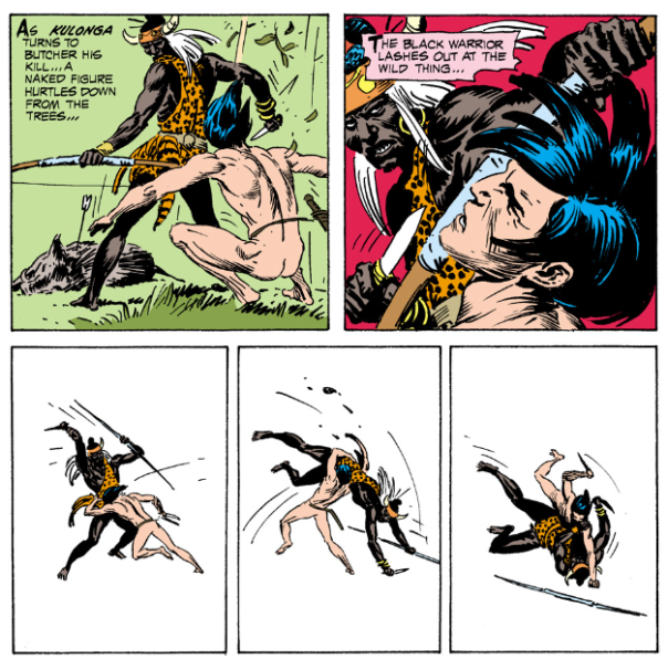 Joe Kubert, Tarzan