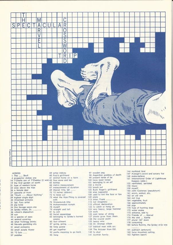 Hulk Crossword
