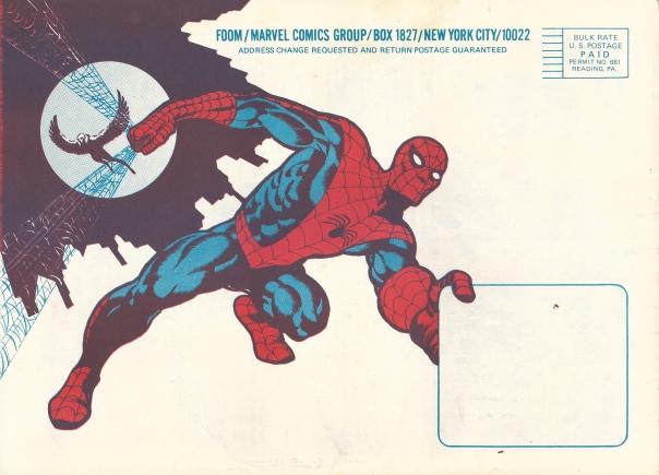 F.O.O.M. #1 Back Cover