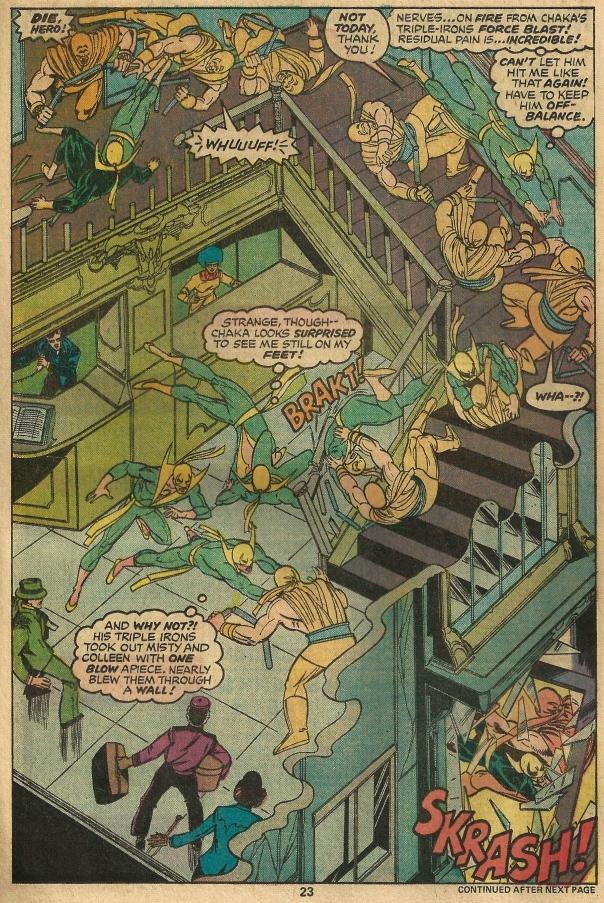Iron Fist #10, Chris Claremont & John Byrne