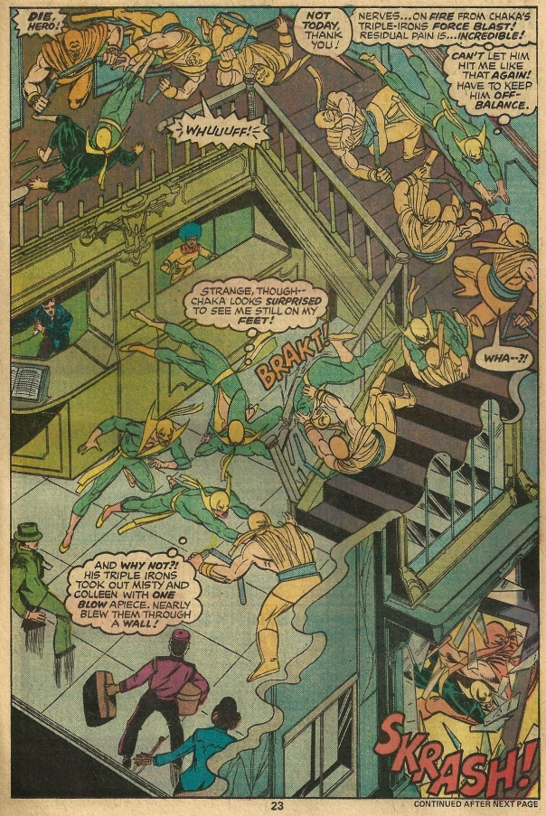 Iron Fist #10, Chris Claremont & John Byrne