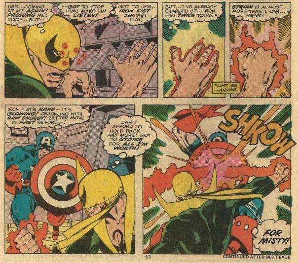 Iron Fist #12, Chris Claremont & John Byrne