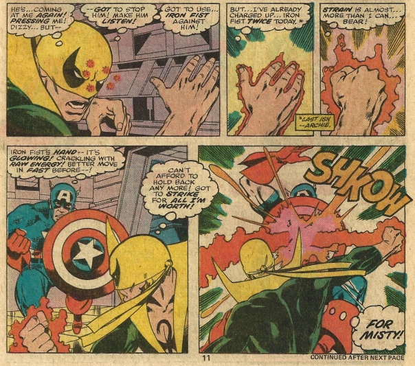 Iron Fist #12, Chris Claremont & John Byrne