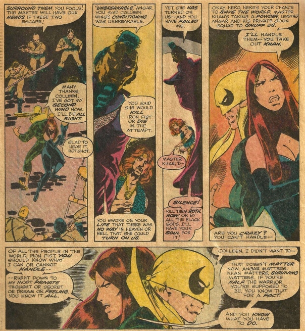 Iron Fist #7, Chris Claremont & John Byrne