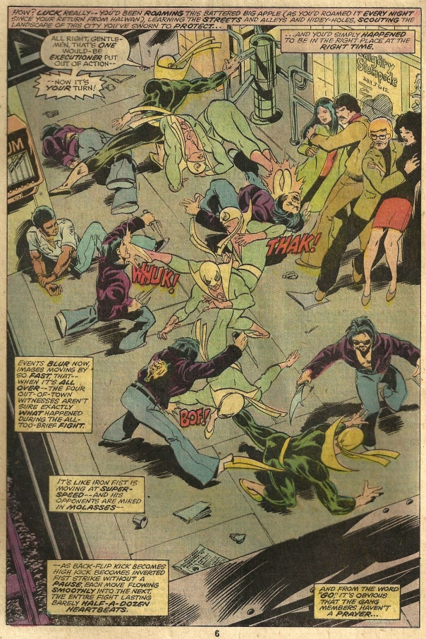 Iron Fist #8, Chris Claremont & John Byrne
