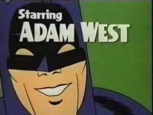 Starring Adam West!