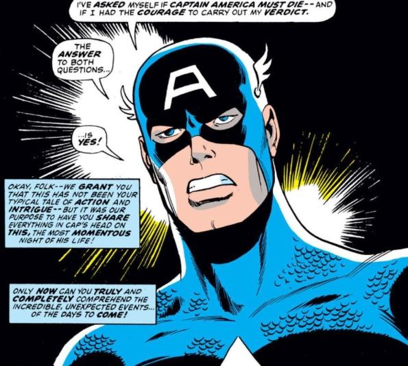Captain America Must Die! by Steve Englehart & Sal Buscema