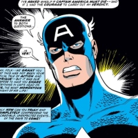 The Day They Walked Away: Captain America!