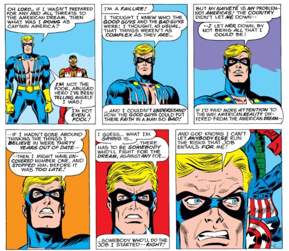 Nomad makes his decision, by Steve Englehart & Frank Robbins
