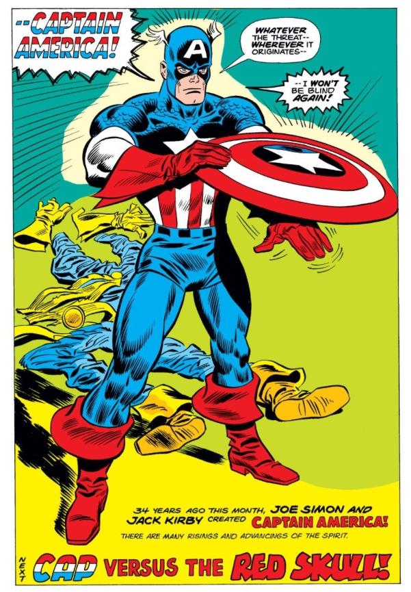 Captain America reborn, by Steve Englehart & Frank Robbins