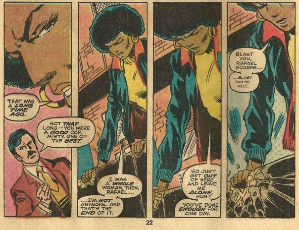 Misty Knight, bionic woman
