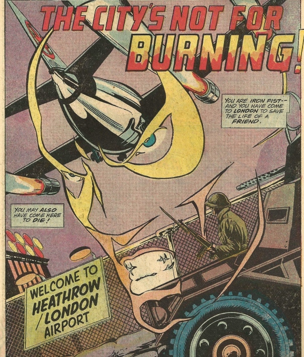 Iron Fist #3, Chris Claremont and John Byrne