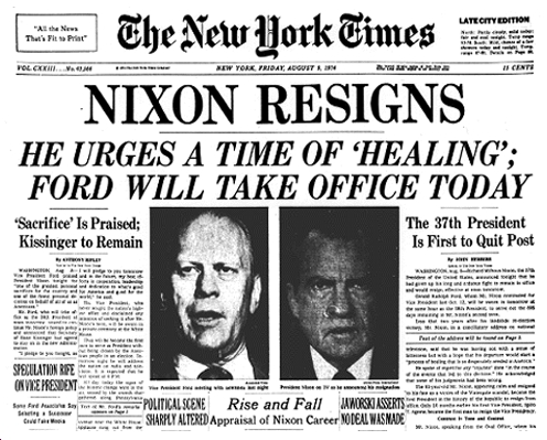 an examination of the watergate scandal Nov 17, 1973   nixon declares 'i am not a  most of the questions related to the watergate break-in, which had become even more of a scandal a month.
