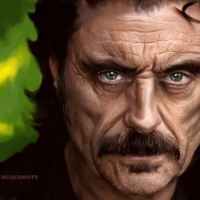 Ian McShane -- Marvel Movie Supervillain!