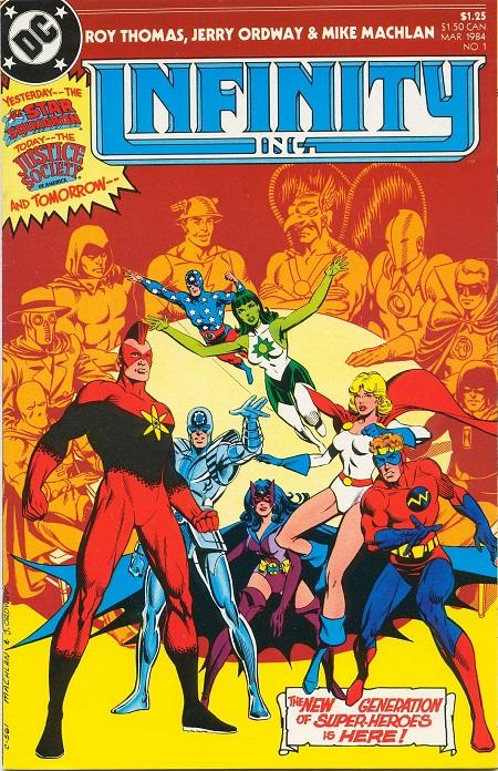 Infinity Inc. #1