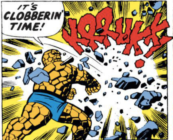 Jack Kirby, Fantastic Four #45