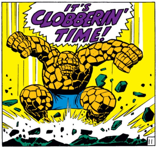 Jack Kirby, Fantastic Four #48