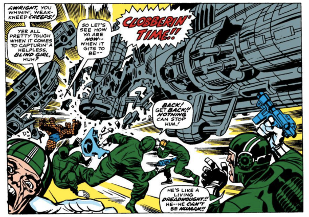 Jack Kirby, Fantastic Four #67