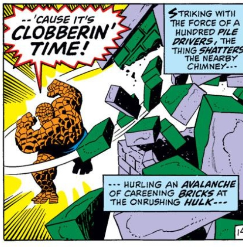 Clobberin' Time!