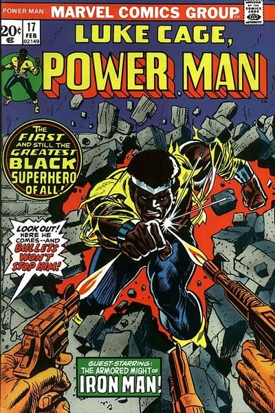Luke Cage, Hero For Hire -- Power Man!