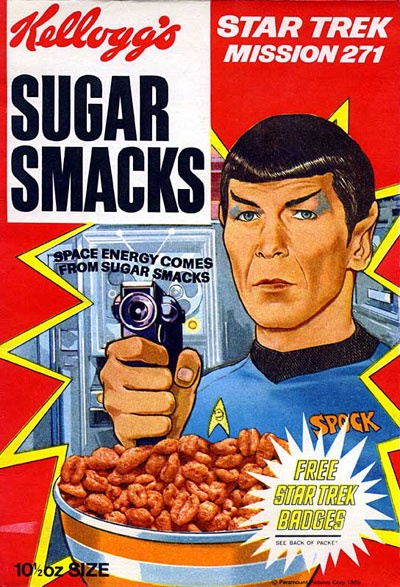 Sugar Smacks Spock