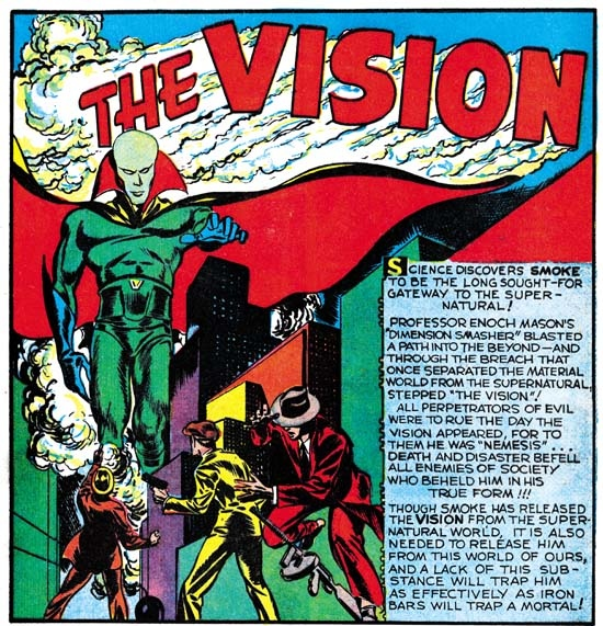 Jack Kirby, the Vision