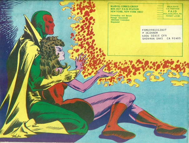 FOOM #12, back cover