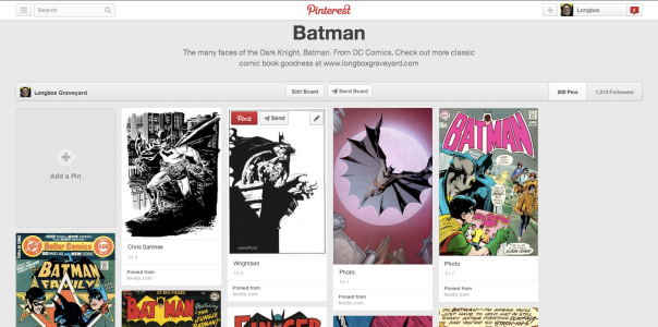 Batman On Pinterest