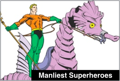 Top 10 Manliest Superheroes